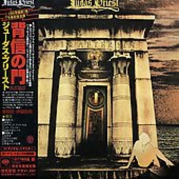 """Judas Priest, Sin After Sin - OBI Mini Replica LP In A CD - Japanese pressing"" - Product Image"
