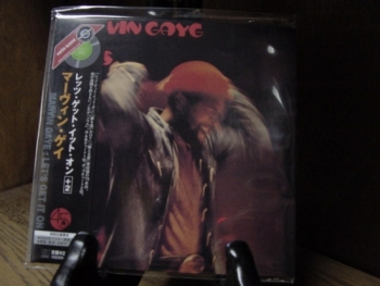 """""""Marvin Gayne, Let's Get It On - Mini LP Replica In A CD - Japanese"""" - Product Image"""