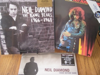 """Neil Diamond, Hot August Night,Bang Years 1966-68, Home Before Dark - 3 Titles"" - Product Image"