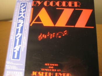 """""""Ry Cooder, Jazz - OBI Mini LP Replica In A CD - Japanese"""" - Product Image"""