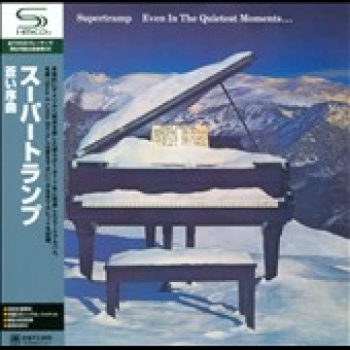 """""""Supertramp, Even In The Quietest Moments - Japanese Mini LP Replica in A CD - Product Image"""