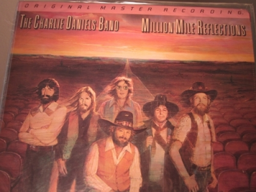 """""""The Charlie Daniels Band, Million Mile Reflections - Factory Sealed MFSL LP Half-speed pressed in Japan"""" - Product Image"""