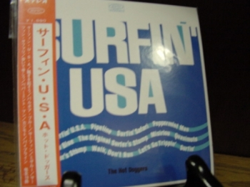 """""""The Hot Doggers, Surfin' USA - Mini LP Replica In A CD - Japanese - Product Image"""