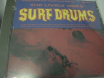"""The Lively Ones, Surf Drums"" - Product Image"
