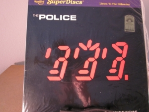 """""""The Police, Ghost In The Machine - Nautilus Superdisc - Original Release - Limited Edition"""" - Product Image"""