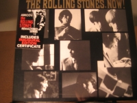 """""""The Rolling Stones, Now SACD - Sticker Showing Original First Inaugural Edition Certificate"""" - Product Image"""