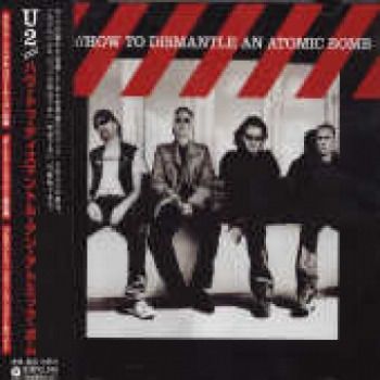 """""""U2, How To Dismantle An Atomic Bomb - OBI Mini LP Replica In a CD - Japanese"""" - Product Image"""