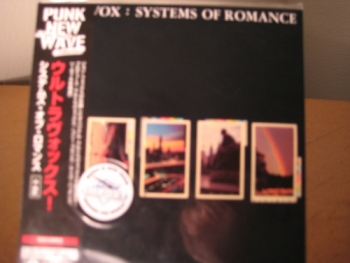 """Ultravox, Systems of Romance - OBI Mini Replica In A CD - Japanese - Product Image"